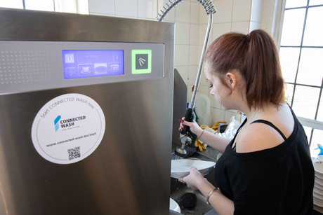 Winterhalter's post-lockdown Pay Per Wash solution