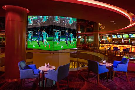 The Meydan Hotel reopens Qube Sports Bar