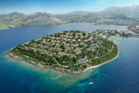 Marriott inks deal for €200m private island in Bodrum, Turkey