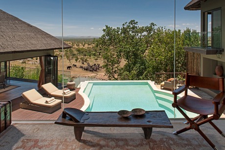 Checking out the Four Seasons Safari Lodge Serengeti, Tanzania