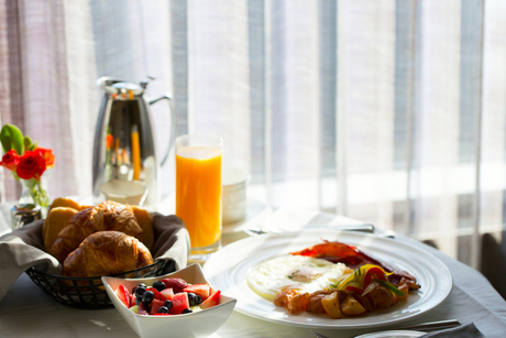 Hotel room service outperformed restaurants during pandemic