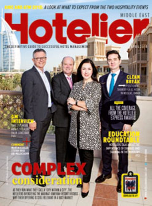 Hotelier Middle East - April 2018