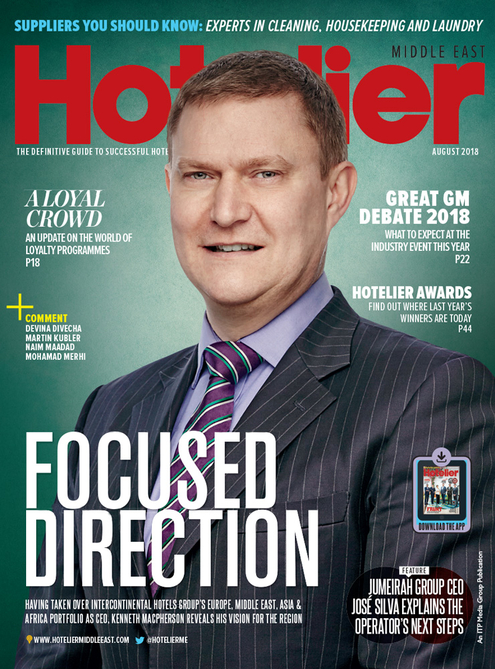 Hotelier Middle East - August 2018