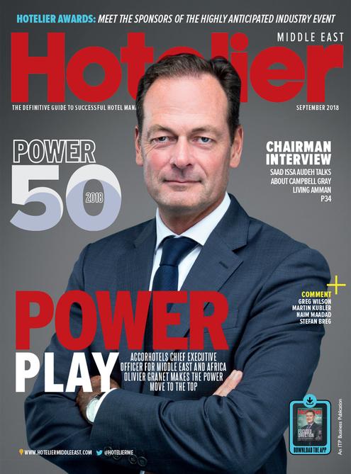 Hotelier Middle East - September 2018