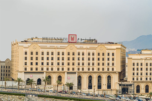 50 Hotels in the Middle East: Millennium & Copthorne Makkah Al Naseem to Palazzo Versace Dubai