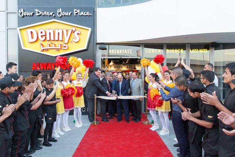 American diner Denny's launches in the Middle East