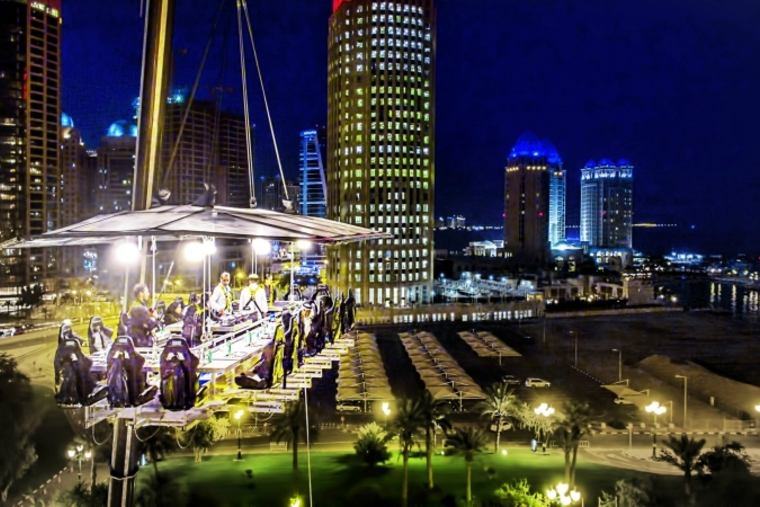 Four Seasons Doha launches 'Dining in the Sky'
