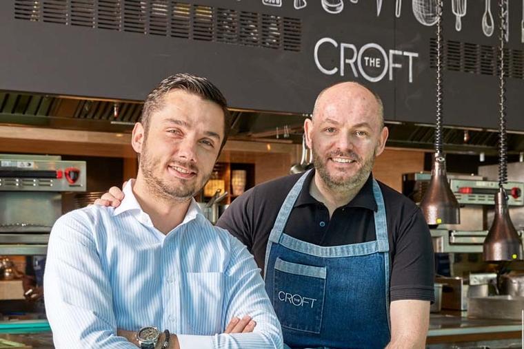The Croft Dubai's Darren Velvick and Jane Nedanoski move on