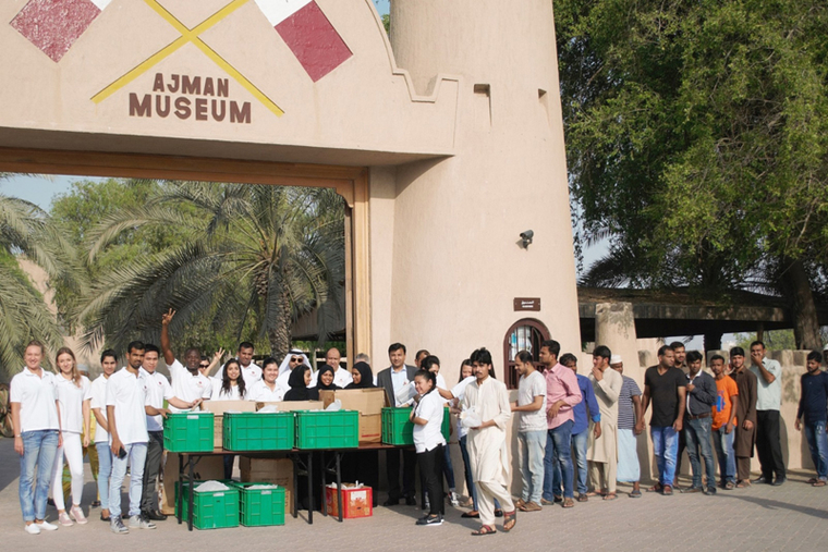 Ramada Ajman distributes iftar boxes to residents