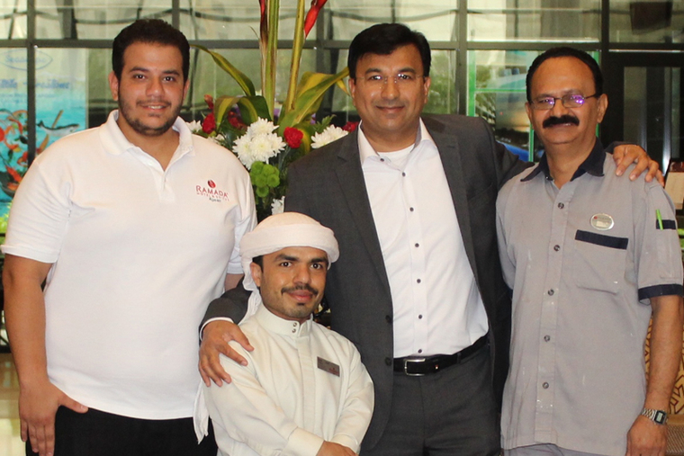 Ramada Ajman trains and hires people of determination for its staff