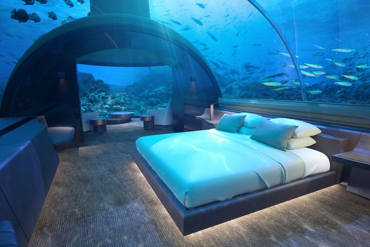 Hilton's first ever undersea residence project to debut this year
