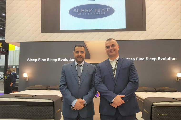 Sleep Fine showcases products from Eastman House at The Hotel Show