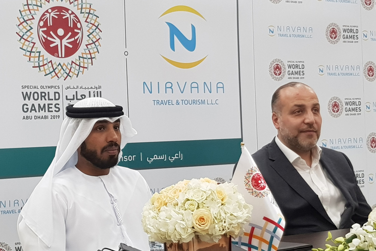 Nirvana Travel & Tourism partners with Special Olympics World Games Abu Dhabi 2019