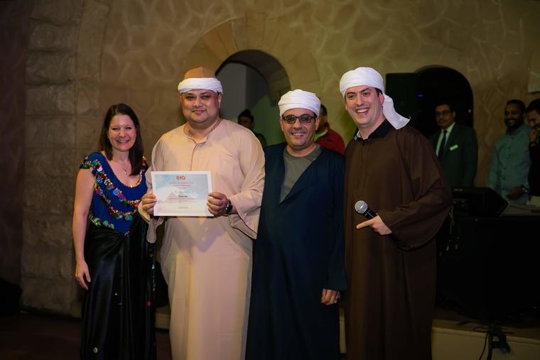 Crowne Plaza Abu Dhabi Yas Island bags IHG award in Cairo, Egypt