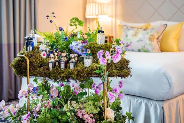 London Marriott Hotel Park Lane collaborates with Penhaligon's fragrances