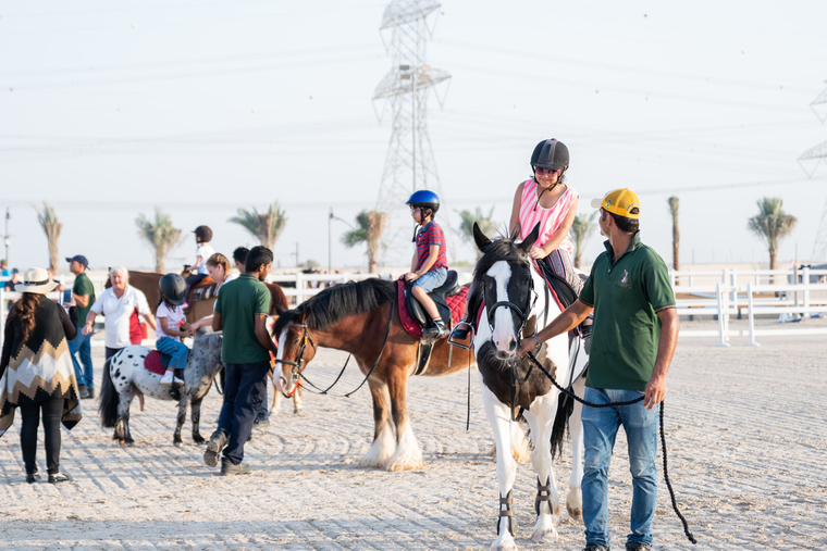Equestrian tournaments at Al Habtoor Polo Resort and Club