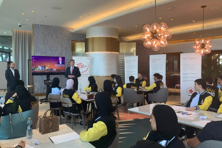 IHG hosts an experiential learning event for students in UAE