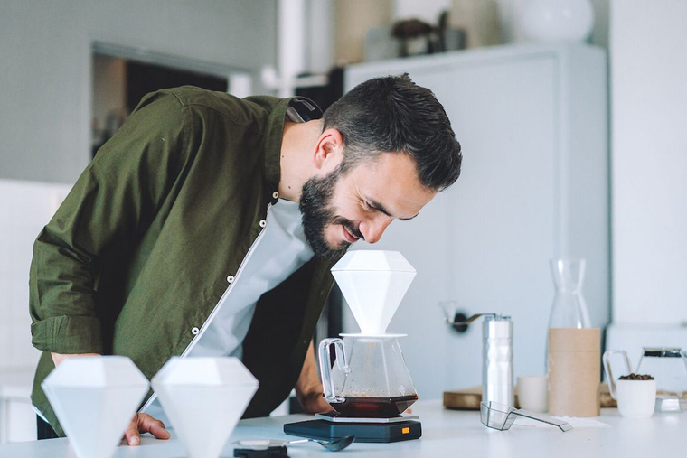 Stefanos Domatiotis launches coffee brewing product in the UAE