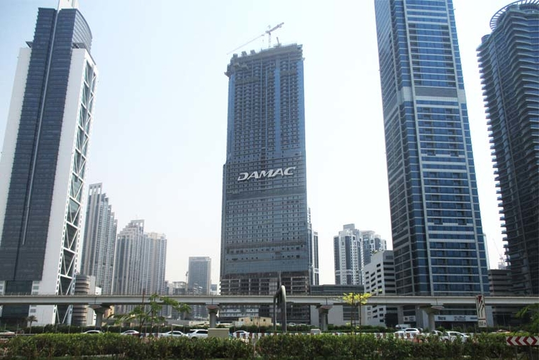 Damac tops out Paramount Tower Hotel and Residences