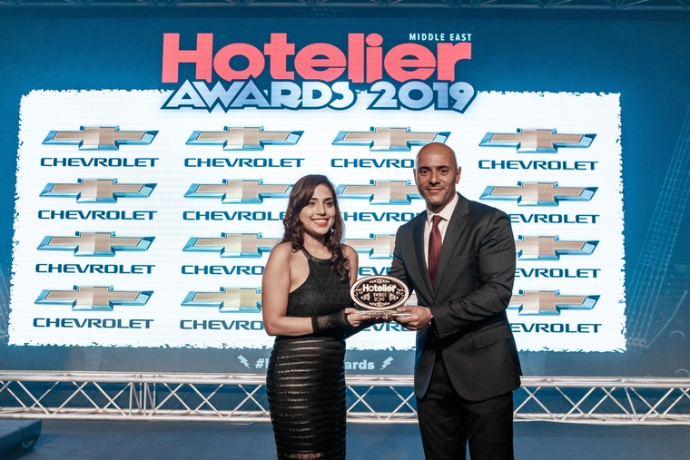 Taj Dubai sales person hits her target at Hotelier Awards