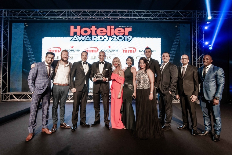 Sofitel Dubai The Palm, Dubai scoops Hotelier Award for Hotel Team of the Year