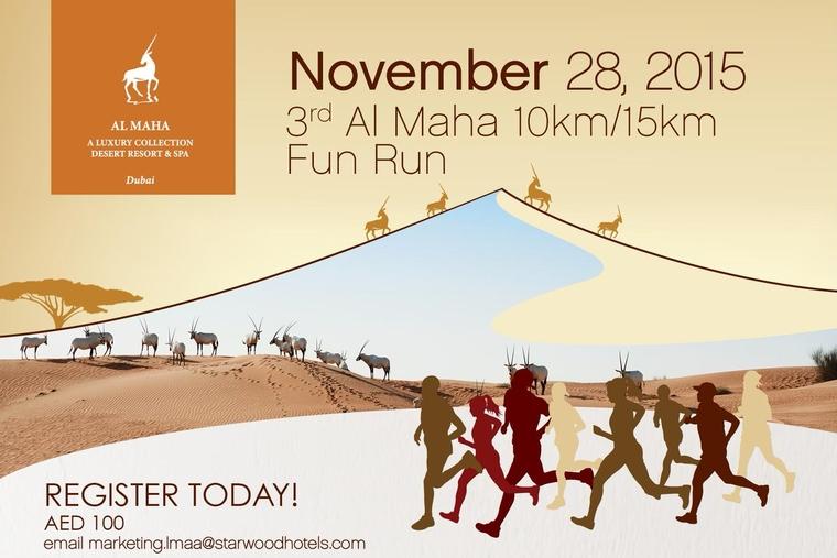 Fun Run returns at Al Maha, Desert Resort & Spa