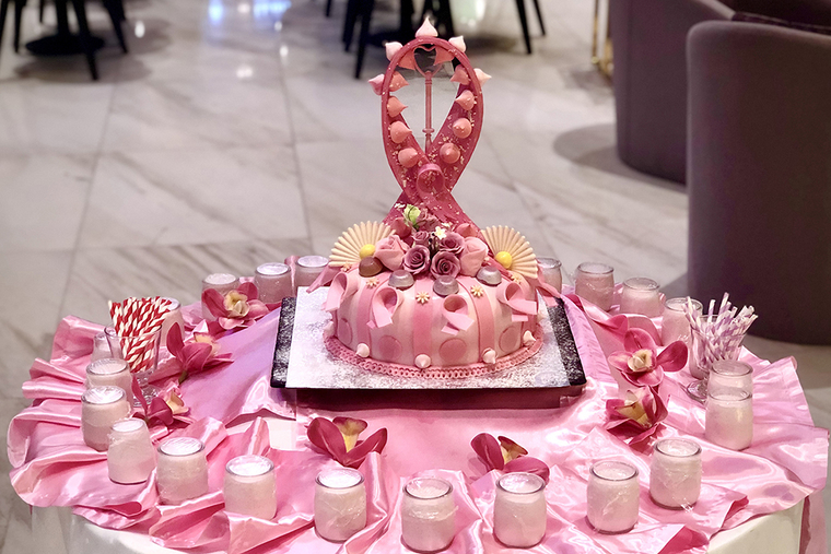 Millennium Plaza Hotel hosts breast cancer awareness campaign