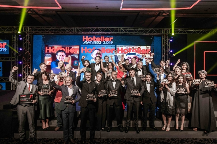 Video: Catch all the action at the Hotelier Middle East Awards 2019