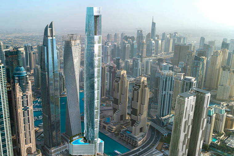 Upcoming 'world's tallest hotel' wins big at International Property Awards