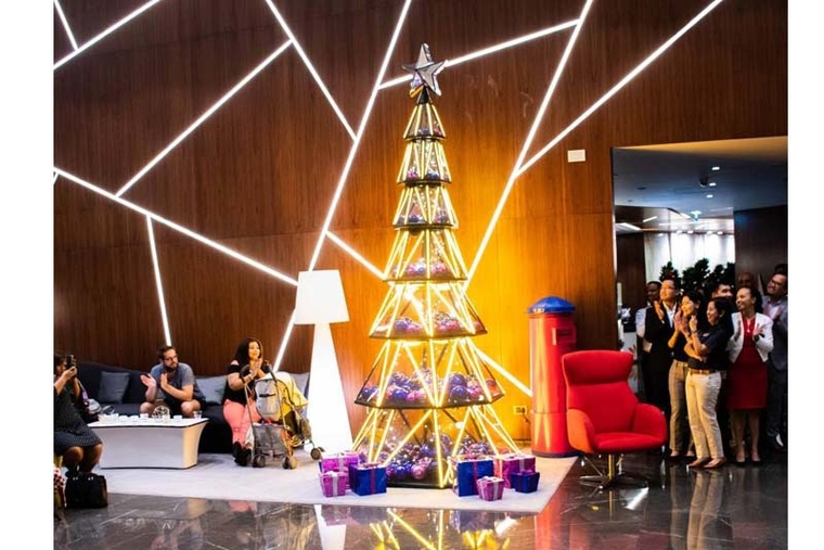 Dubai hotel partners with children's hospital