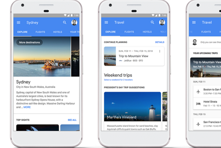 Google partners with travel software company