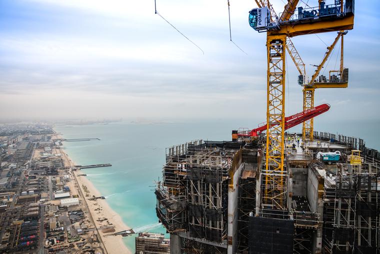 Address Jumeirah Resort nears completion