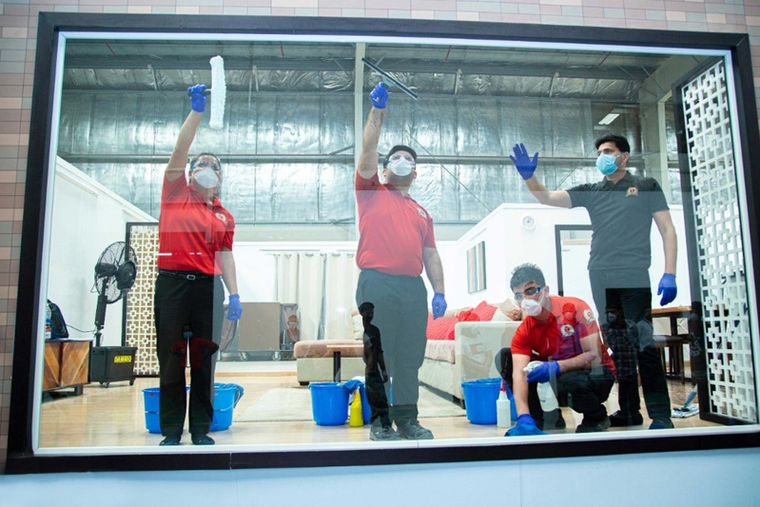 Dubai's Transguard Group deploys 44,000 workers a month during pandemic