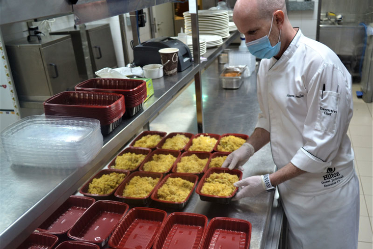 Photos: Hilton hotels across Dubai support 10 Million Meals initiative