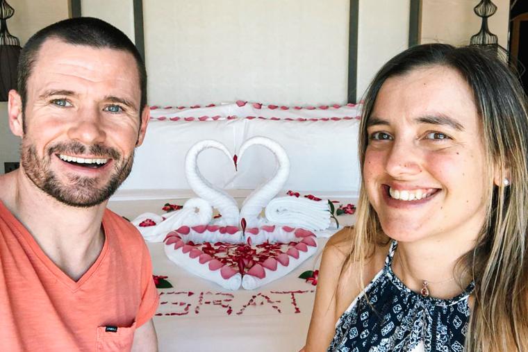 Zoom wedding couple gifted stay at Saadiyat Rotana Resort & Villas