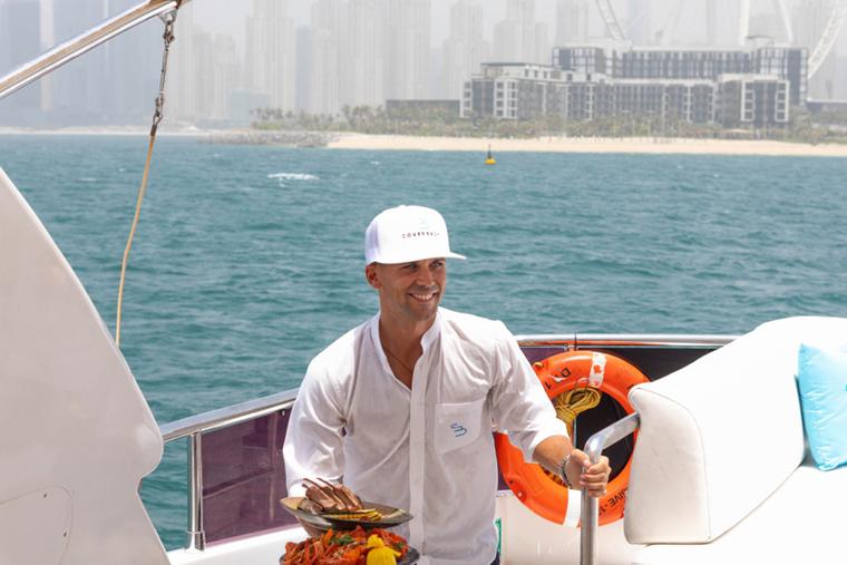 Dubai venue launches food delivery service to Dubai Marina yachts