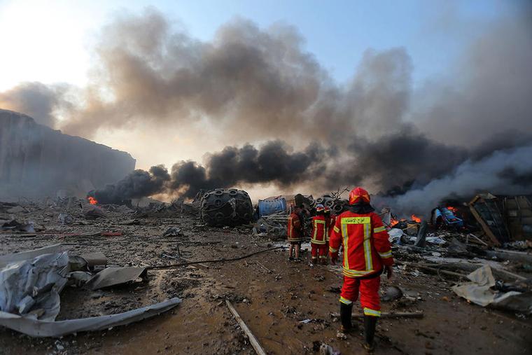 Flights to Beirut continue despite explosion near airport