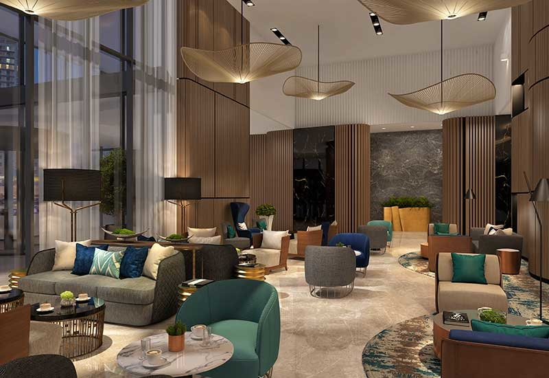 Wyndham Dubai West Bay MarinaProposed opening date: September 2018.Location: Dubai Marina.Owner: The First Group.Interior designer: The First Group.Architect: Alajmi Engineering Consultants.Keys: 465.Total area of property: Total build up area, circa 27,500m.F&B outlets: A distinctive F&B proposition including three outlets.Leisure facilities: A fitness centre, an outdoor rooftop pool and a spa.MICE facilities: Three meeting rooms.Unique selling points of the property: This 465-room hotel will be situated in a prime location in the highly sought-after Dubai Marina area, with easy access to Sheikh Zayed Road. It will be situated in front of the Jumeirah Lake Towers metro station, and close to other nearby transport links. Wyndham Dubai West Bay Marina will also offer its guests a distinctive F&B proposition.
