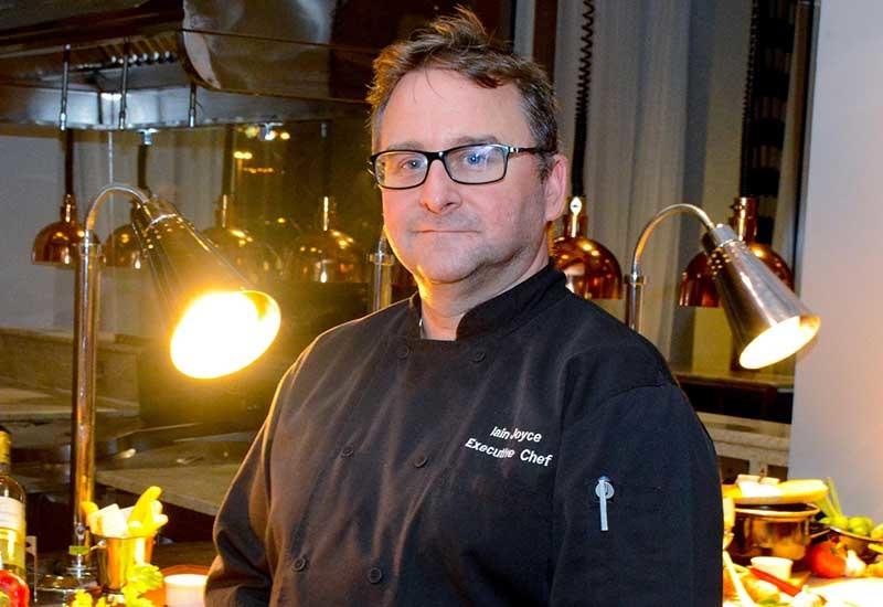 Iain Joyce, Executive Chef, Movenpick Hotel Bahrain