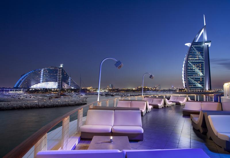 360, Jumeirah Beach Hotel.