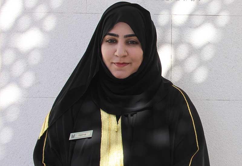 Halima Al Ghafri, Sales Executive, Millennium Resort Mussanah