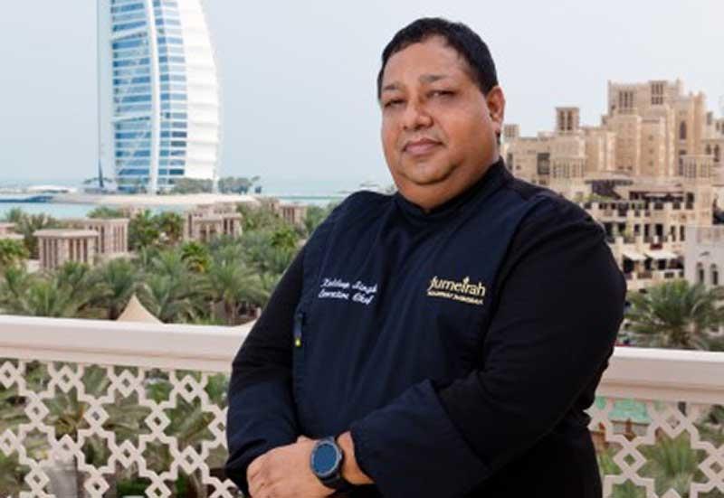 Kuldeep Singh, Executive Chef, Jumeirah Mina A' Salam, Conferences & Events and Jumeirah Hospitality, Jumeirah Mina A' Salam