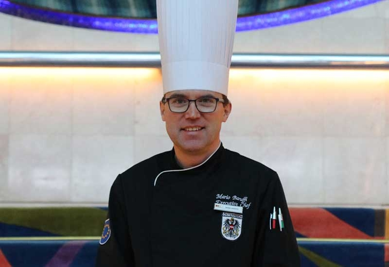 Mario Baruffi, Cluster Director of Culinary, Crowne Plaza and Holiday Inn Kuwait Al Thuraya City