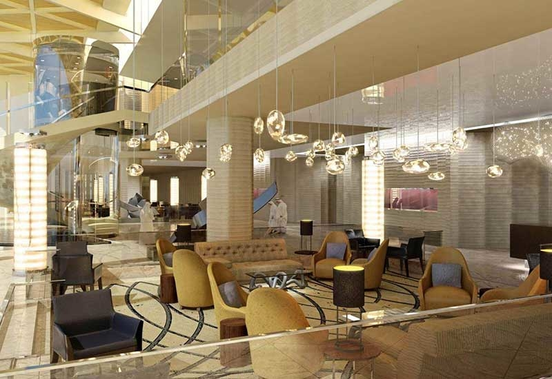 Hilton Riyadh Hotel & ResidencesProposed opening date: May 2018.Location: Riyadh, Saudi Arabia.Owner: Granada Investment Centre established by General Organisation for Social Insurance (GOSI).Keys: 645 guest rooms and 221 hotel apartments.Total area of property: Approximately 200,000m2.F&B outlets: Anar is a Turkish restaurant that will offer Turkish/Middle East food, Lotus is an Asian-inspired restaurant with an open-air terrace, Teatro will be the hotels all-day dining restaurant and will offer international dining options buffet-style, Lobby lounge and executive lounge for light bites.Leisure facilities: Eforea spa and health club, with separate male and female areas and swimming pools.MICE facilities: Large pillarless ballroom that can host up to 5,100 delegates, junior ballroom that can host up to 616 people, and 11 flexible meeting rooms.Unique selling points: Extensive MICE facilities, including one of Riyadhs largest pillarless ballrooms, Presidential Suite with a panoramic view of Riyadh. Located between Granada Centre and Granada Business Park.