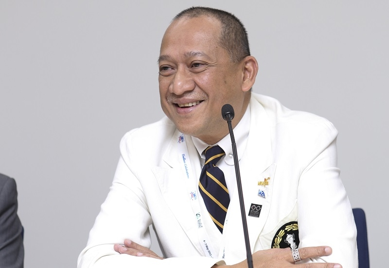 Malaysia minister of tourism and culture Dato' Seri Mohamed Nazri Abdul Aziz.