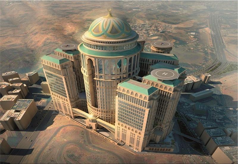 The Abraj Kudai aerial view