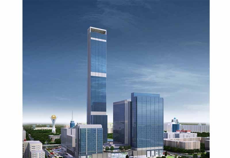 Abu Dhabi Plaza rendering. Image: whitbymohajer.com