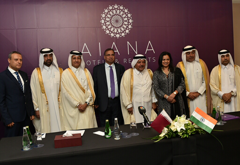 At the signing of the MOU and management agreements