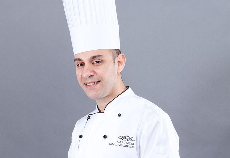 Ali El Bourji, executive oriental head chef