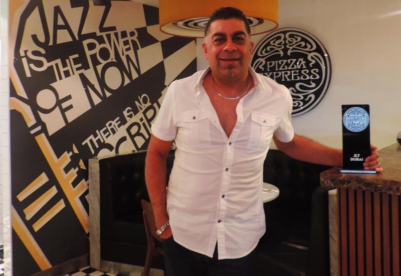 PizzaExpress UAE managing director Anand Radia